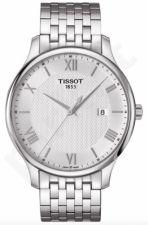 Laikrodis TISSOT TRADITION kvarcinis vyriškas T0636101103800