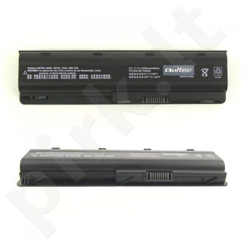 Nešiojamo kompiuterio baterija Qoltec HP/Compaq CQ62, 10.8-11.1 V, 5200mAh