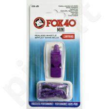 Švilpukas FOX40 Mini Safety +virvutė 9803-0808