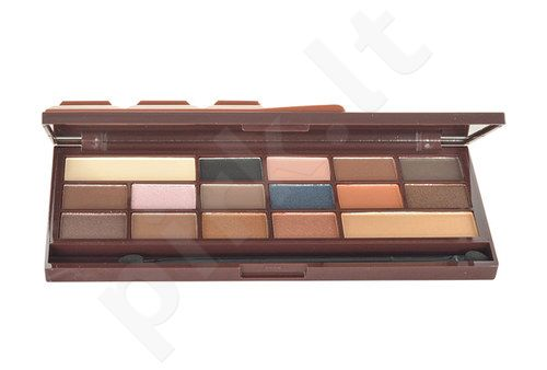 Makeup Revolution London I Love Makeup I Heart Chocolate Caramel Palette, kosmetika moterims, 22g