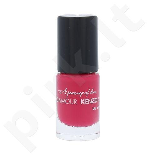 Kenzo Amour nagų lakas, kosmetika moterims, 5ml, (Pink Rose)