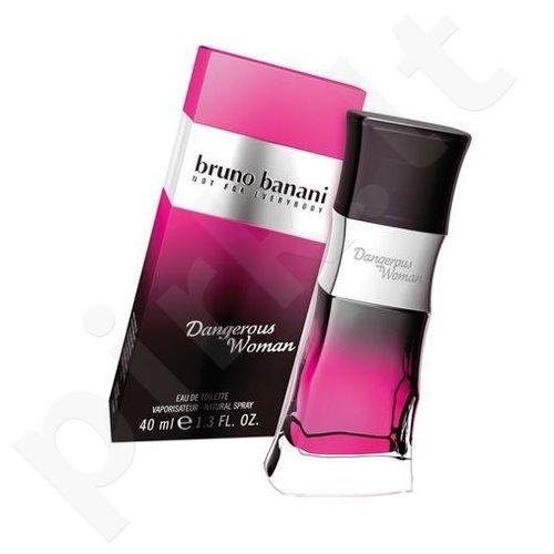 Bruno Banani Dangerous Woman, tualetinis vanduo moterims, 40ml