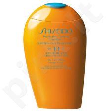 Shiseido Protective Tanning emulsija SPF10, kosmetika moterims, 150ml