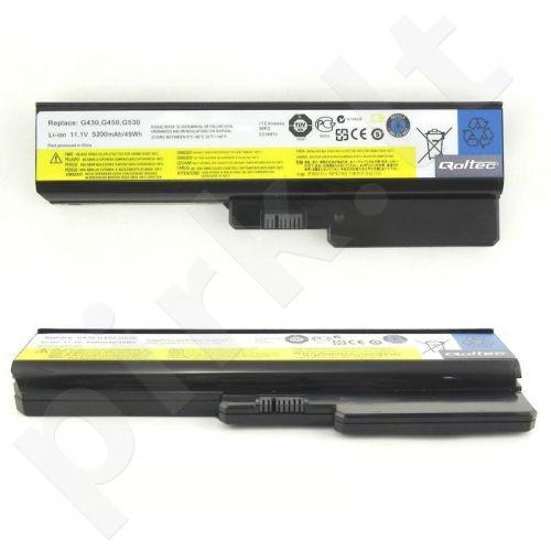 Nešiojamo kompiuterio baterija Qoltec IBM/Lenovo 3000, 10.8-11.1 V, 5200mAh