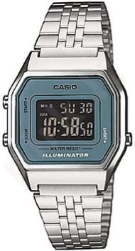 Laikrodis CASIO   LA-680WA-2B RETRO ILLUMINATOR Digit Autocalendar **NO BOX**