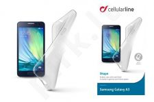 Samsung Galaxy A3 dėklas SHAPE Cellular permatomas