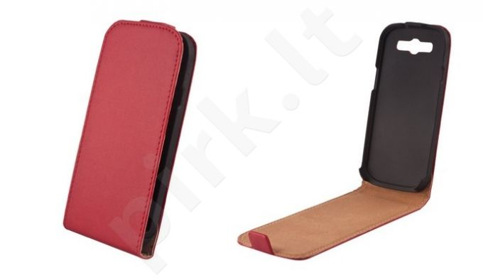 Samsung Galaxy Trend 2 dėklas ELEGANCE Forever raudonas