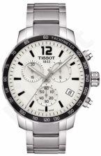 Laikrodis TISSOT QUIKSTER kvarcinis vyriškas chronografas TACHYMETRE T0954171103700