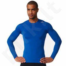 Marškinėliai termoaktyvūs adidas Techfit Base Long Sleeve M AJ5019
