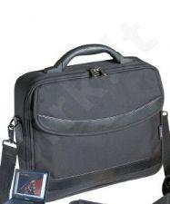Krepšys Kerry 15,4'', 1x skyrius+ kišenė, poliesteris 600D, juodas