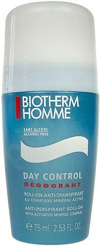Biotherm Day Control Deodorant RollOn Anti Perspirant, 75ml, kosmetika vyrams