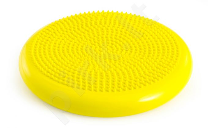 Balansinė pagalvėlė AIR PAD BASIC 33,5cm yellow