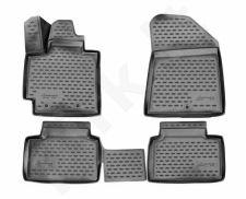 Guminiai kilimėliai 3D KIA Soul 2014 ->, 4 pcs. /L38019G /gray