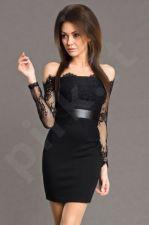 Emamoda suknelė - juoda 5702-3