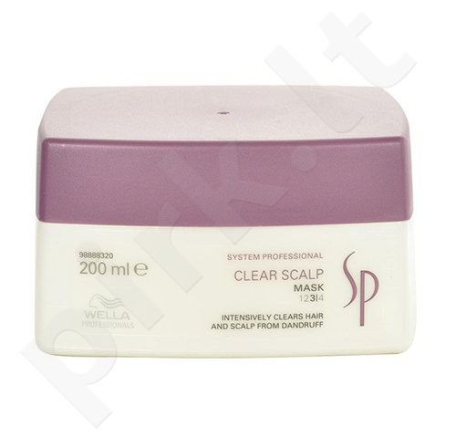 Wella SP Clear Scalp Mask, kosmetika moterims, 200ml