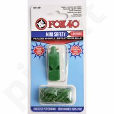 Švilpukas FOX40 Mini Safety +virvutė 9803-0608