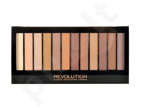 Makeup Revolution London Redemption Palette Essential Shimmers, kosmetika moterims, 14g