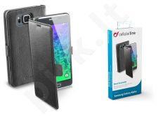 Samsung Galaxy Alpha dėklas BOOK ESSEN Cellular juodas