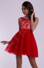 EVA&LOLA suknelė - raudona 10008-4