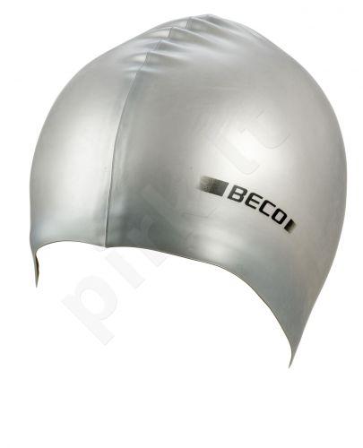 Kepuraitė plaukimui unisex silikoninė 7397 11 silver