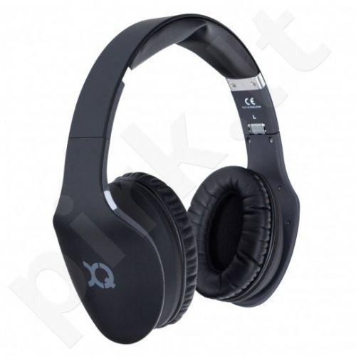 XQISIT LZ380 BT ausinės, juodos mat.
