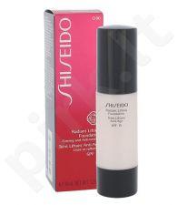 Shiseido Stangrinanti kreminė veido pudra SPF15 Visiems odos tipams, kosmetika moterims, 30ml, (O00 Very Light Ochre)