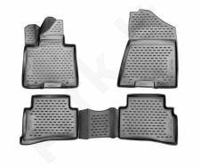 Guminiai kilimėliai 3D KIA Sportage 2016->, 4 pcs. /L38021G /gray