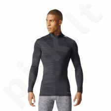 Marškinėliai termoaktyvūs adidas Techfit Base Warm Mock Tee M CD3851