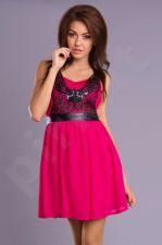 Emamoda suknelė - fuksija spalva 7201-1