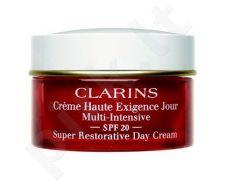 Clarins Super Restorative dieninis kremas SPF20, kosmetika moterims, 50ml
