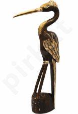 Medinė statulėlė Garnys 67489