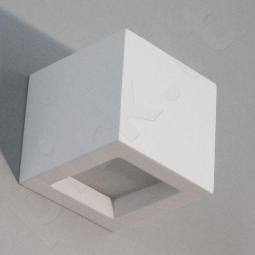 Sieninis šviestuvas gipsinis 10-KORYTKO WYSOKIE 12 Z DOLNYM SZKŁEM