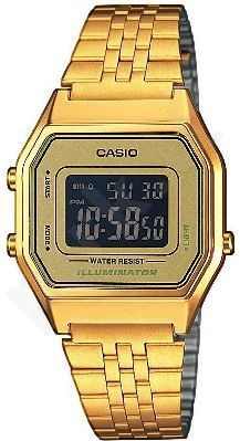 Laikrodis CASIO   LA-680WG-1 Illuminator. chronografas.  . Timer. wr 30 **ORIGINAL BOX**