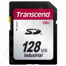 Transcend Compact Flash 128MB SDHC Cl6 Industrial