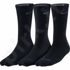 Kojinės Nike Dri-FIT Non-Cushion Crew 3 poros SX4831-001