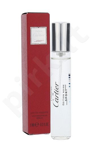 Cartier Pasha De Cartier Edition Noire Sport, EDT vyrams, 9ml