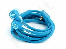 SOUL K-pop in-ear stereo ausinės, mėlyno