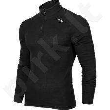 Marškinėliai termoaktyvūs ODLO Shirt turtle neck 1/2 zip Warm M 152002/15000