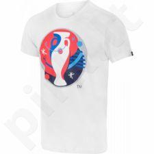 Marškinėliai Adidas Euro 2016 Logo M AI5606