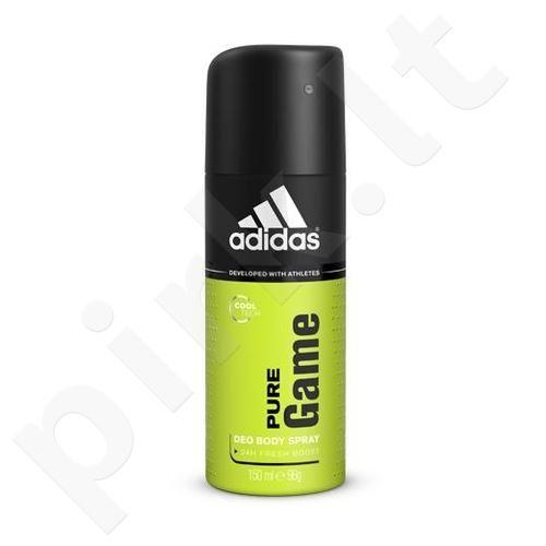 Adidas Pure Game, 24H, dezodorantas vyrams, 150ml
