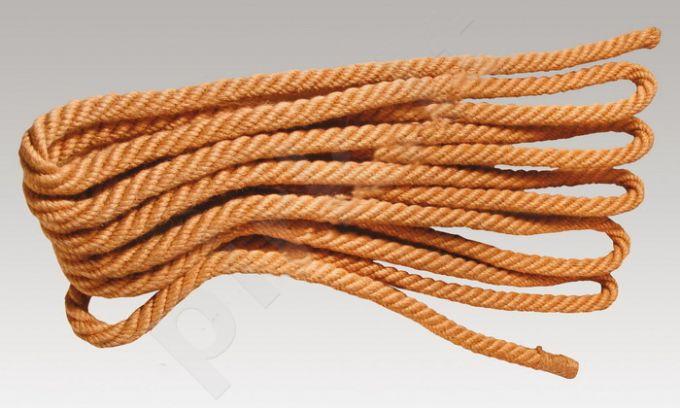 Traukimo virvė džuto pluošto storis 24mm 10 m