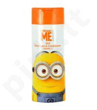 Minions šampūnas & kondicionierius 2in1, kosmetika moterims, 400ml
