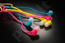 SOUL K-pop in-ear stereo ausinės, žalios