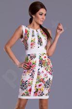 Emamoda suknelė - žalia 8408-2 M dydis
