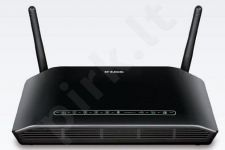 D-Link Wireless N ADSL2+ Router, 4 Port 10/100 Switch, Shareport  (Annex B)