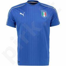Marškinėliai futbolui Puma Włochy Home Kids 74883301