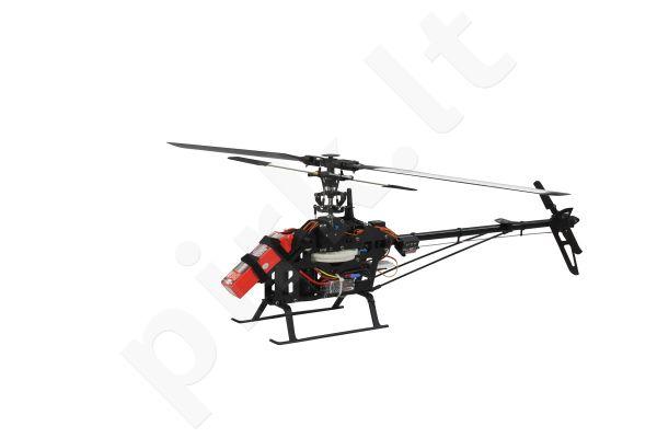 Radio bangomis valdomas E-Rix 500 ARF Motor,Regler u.Servos
