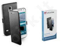 Samsung Galaxy S5 mini dėklas BOOK ESSEN Cellular juodas