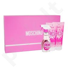 Moschino Fresh Couture Pink rinkinys moterims, (EDT 50ml + kūno losjonas 100ml + dušo želė 100ml)