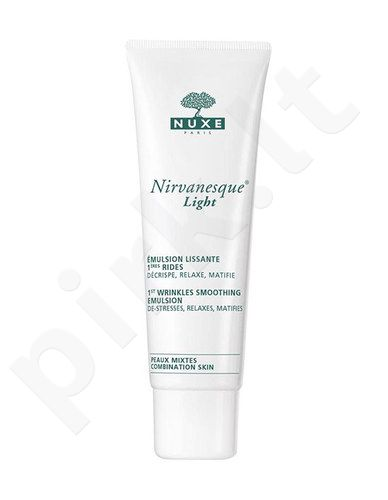 Nuxe Nirvanesque Light 1st Wrinkles Smoothing emulsija, kosmetika moterims, 50ml